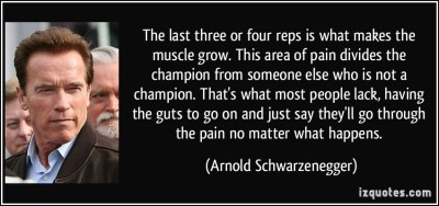 Best arnold quotes