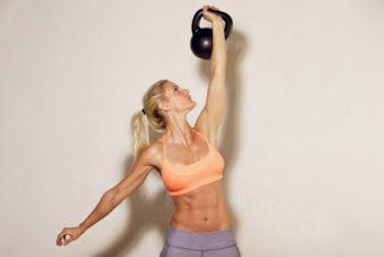 kettlebell workout for women