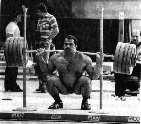 Squat to get jacked
