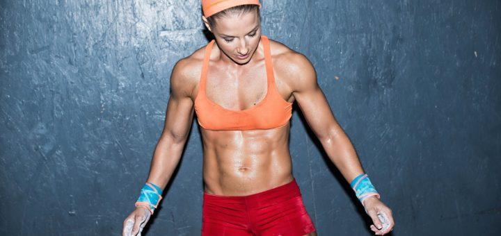 female fitness body program