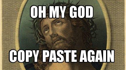copy and paste meme