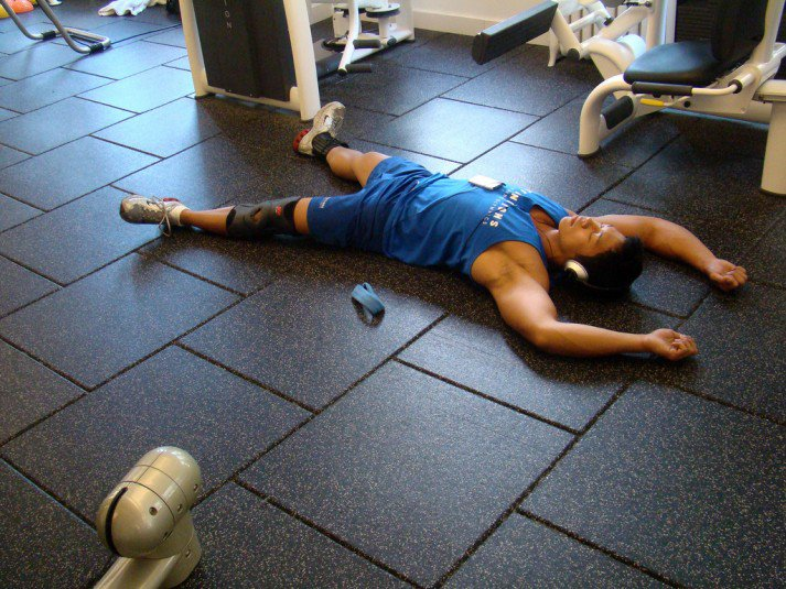tired after workout