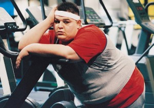 Fat guy workout