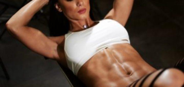 Fitness model girl