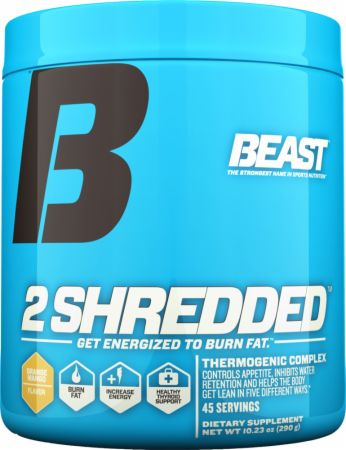 2 Shredded Pre Workout